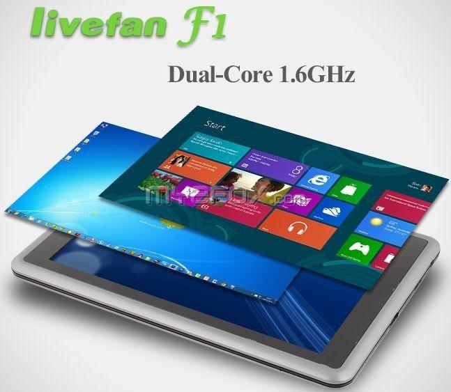 続・中華Windows8タブレット「LiveFan F1」の追加情報と画像とスペック表