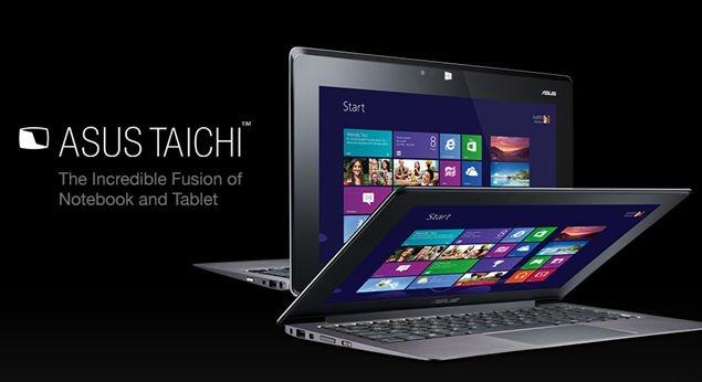 表裏2つのディスプレイ! タブレット Ultrabook 「ASUS TAICHI」、スペック表