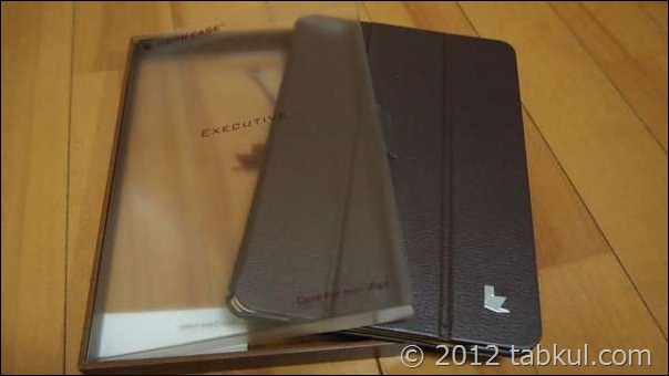 iPad mini 専用カバー・ケースが到着、開封レビュー