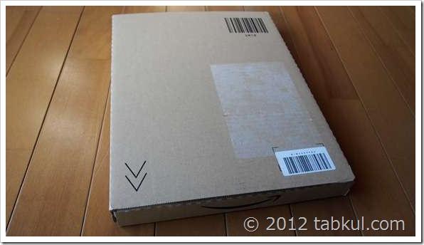 VivoBook X202E 購入レビュー06 | SSDディスクが到着、開封編