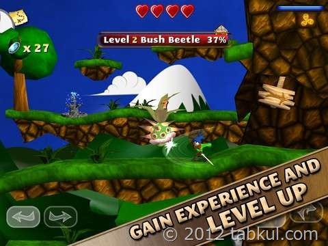 ゼルダっぽい!? iOSゲーム「Swordigo」が無料セール中