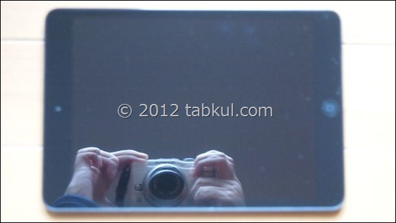 iPad mini レビュー | 液晶保護フィルムの貼り付け前後を比較する