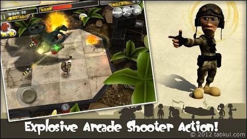 本日の無料 iOSアプリ「Total Recoil」 | 銃のアクションゲーム(170円)と感想