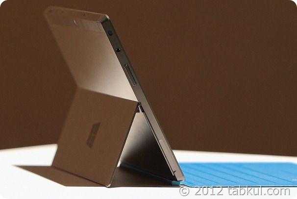 Surface Pro のバッテリー時間、Surface RT の半分で4~4.5時間