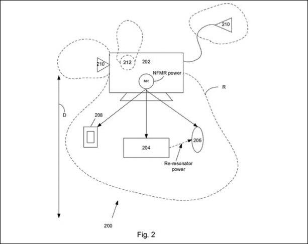 Apple、半径1mまで対応するワイヤレス充電の特許申請