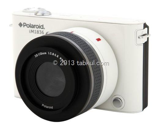 ポラロイド、Android搭載ミラーレスカメラ「iM1836」は 399ドル(約3.5万円)