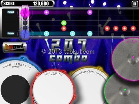 太鼓の達人系のリズムゲーム「Drum Fanatics」が無料セール中 / iOSアプリ
