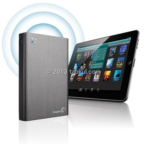 DLNA対応、1TB で 10時間駆動の Wi-Fi 外付けハードディスク「Wireless Plus」