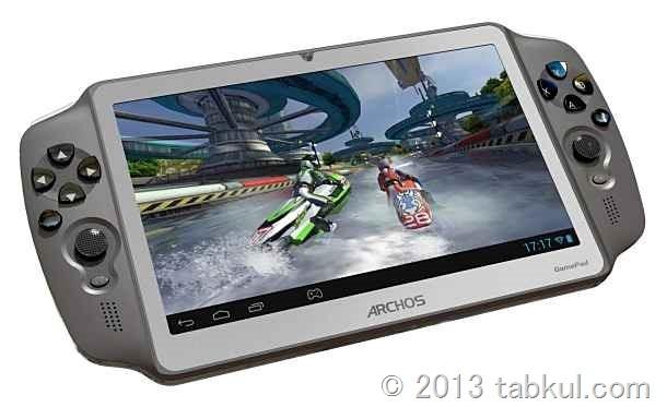 7インチ 「ARCHOS GamePad」のスペック、ゲーム機になるのか