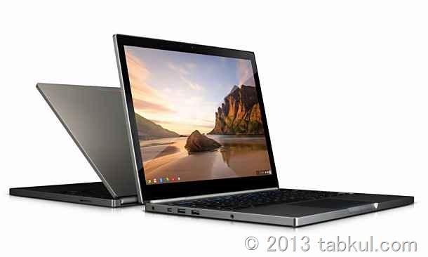 市場最高画素数 / Gorilla Glass(マルチタッチ)の「Chromebook Pixel」は 1299ドル / スペックや動画など
