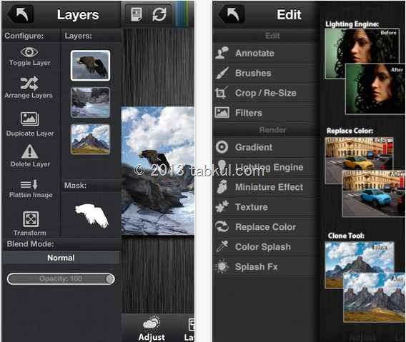 レイヤー制限なし の画像編集アプリ「Laminar Express (for iPhone)」が無料セール中 / iOS