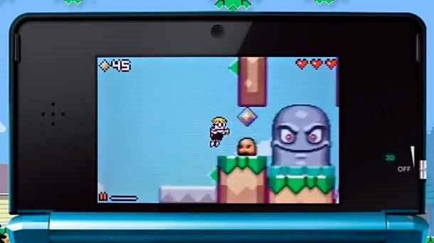 DSからの移植アプリ「Mutant Mudds」が無料セール中、DS版とiOS版の動画。