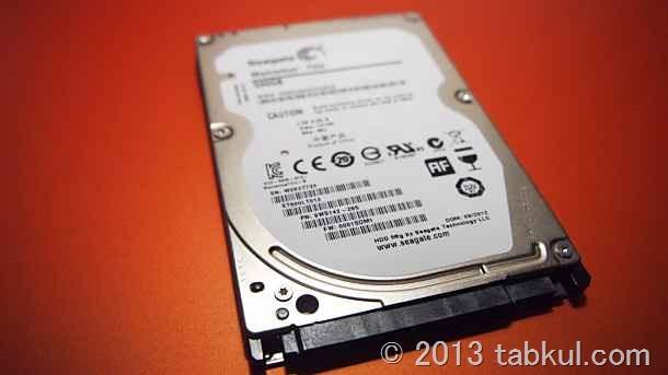 VivoBook X202E レビュー17 | SSD化後の空きディスクを外付けHDDにする