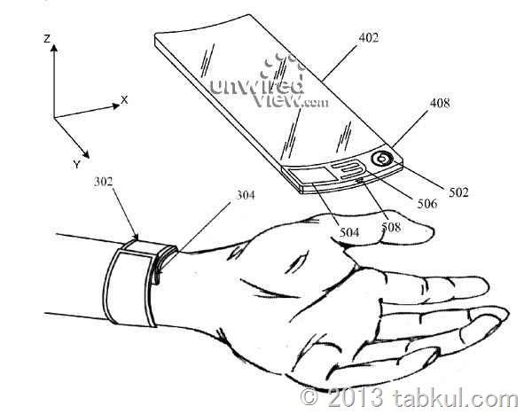 米アップル、iWatch のデザイン特許を申請