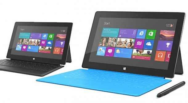 米Microsoft、7インチなど小型化した 「Surface」を計画か