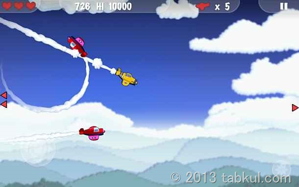 価格 247円、白熱の空中戦ゲーム「MiniSquadron」の試用レビュー