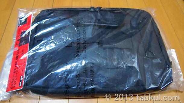 クツワのA4バッグ「198DRBK」が到着、開封レビュー(細部を拡大する)