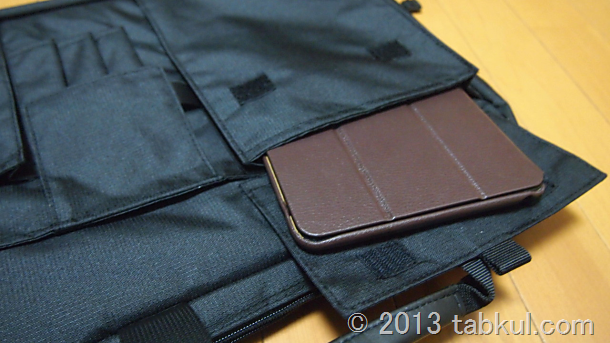 スマートバック「198DRBK」に iPad mini や Nexus 10 、ノートPCは入るのか