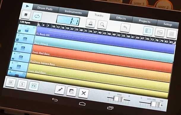 MIDI制作アプリ、「FL Studio Mobile」のAndroid版デモ動画が公開(機能など)