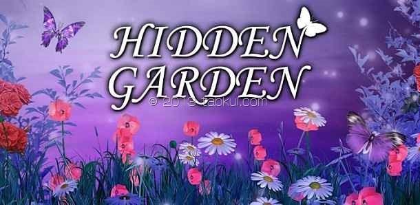 価格 99円、園庭を散策して隠しオブジェクトを探すゲーム「Hidden Garden」の試用レビュー / Androidアプリ