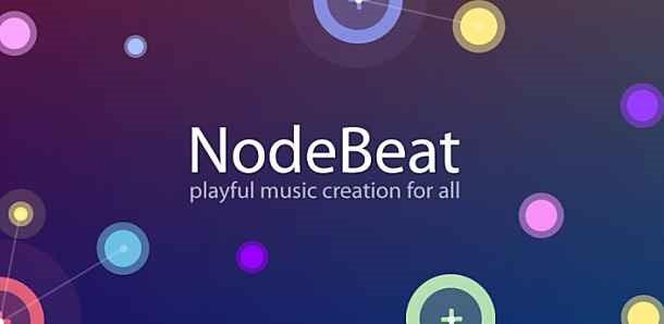 価格 158円、線と点で奏でる音楽アプリ「NodeBeat」の試用レビュー / Androidアプリ