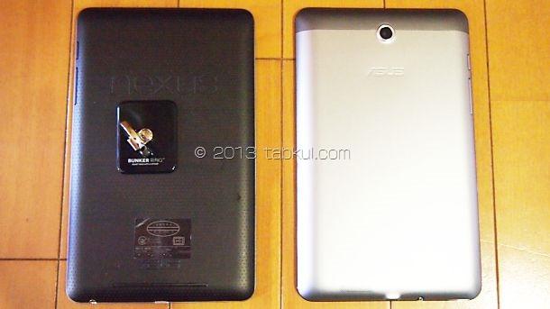 Fonepad レビュー、Nexus 7 と写真で比較する