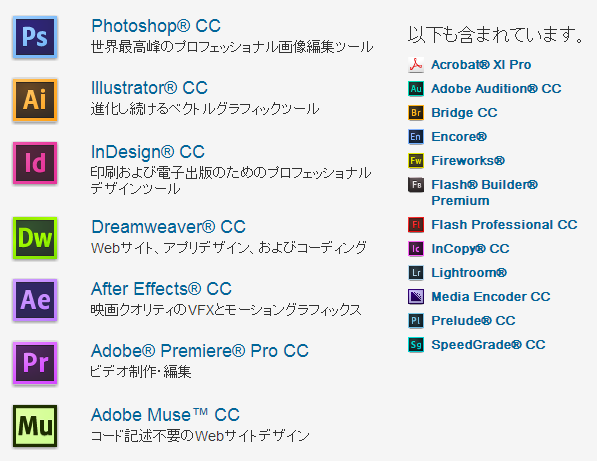 Adobeが『Creative Suite』開発中止を発表、Creative Cloudに注力へ