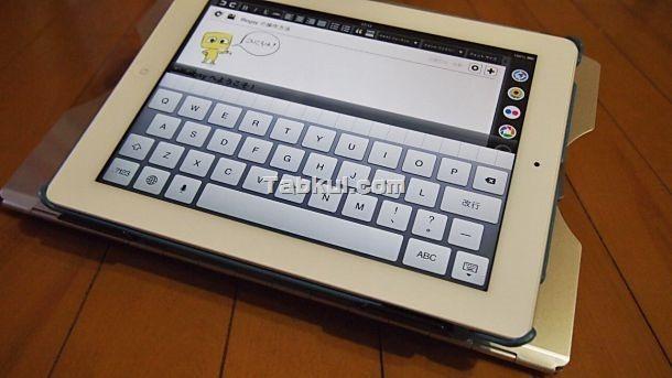 iPad で試す、ノートPCスタンド 「CR-36」 レビュー