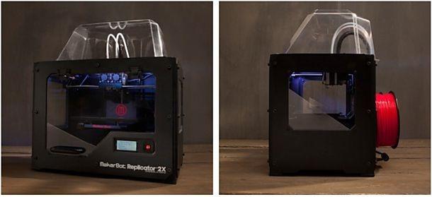 ブルレー、3Dプリンター『Replicator2X』を国内販売へ(価格や印刷領域ほか)