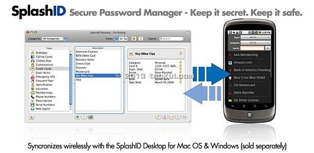価格 818円、自動入力対応 パスワード管理アプリ「SplashID Safe」の試用レビュー / Androidアプリ