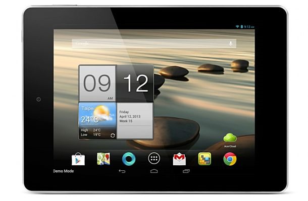 Acer、7.9インチ低価格なAndroid4.2タブレット「ICONIA A1」を正式発表
