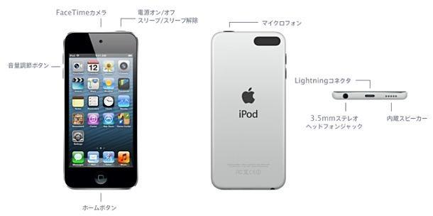 廉価版「iPod touch」発売、背面のカメラやループがスッキリ。