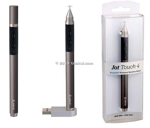 筆圧2048対応ペン「Jot Touch 4」が発表、予想価格 9,999円(動画あり)