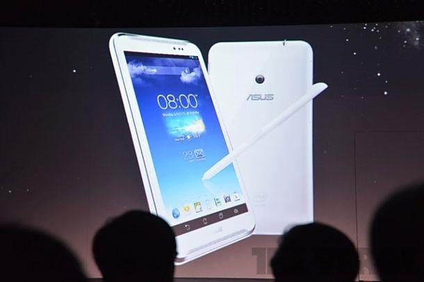 ASUS、6インチ『Fonepad Note FHD6』を発表(スペックや画像)