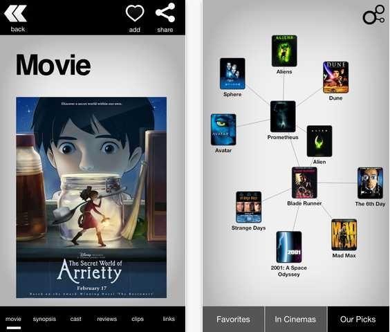関連する音楽/アプリ/人/映画を探索『Discovr』シリーズ4アプリが無料セール中