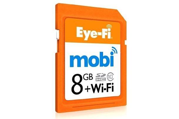 スマホやタブレット向けに『Eye-Fi Mobi』発表、6月14日発売へ