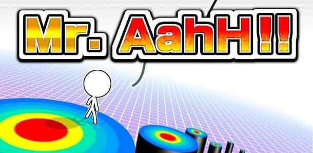 価格 99円、的めがけて決死のジャンプ「Mr.AahH!!」の試用レビュー / Androidアプリ