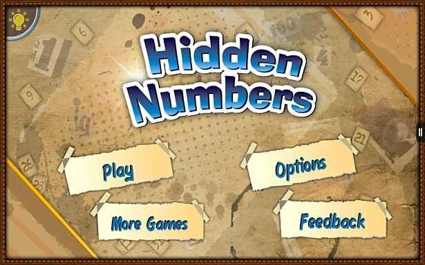 価格不明、数字探しゲーム「Hidden Numbers」の試用レビュー / Androidアプリ