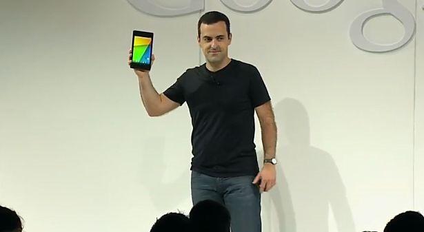 第2世代 Nexus 7 のハンズオン動画3つ