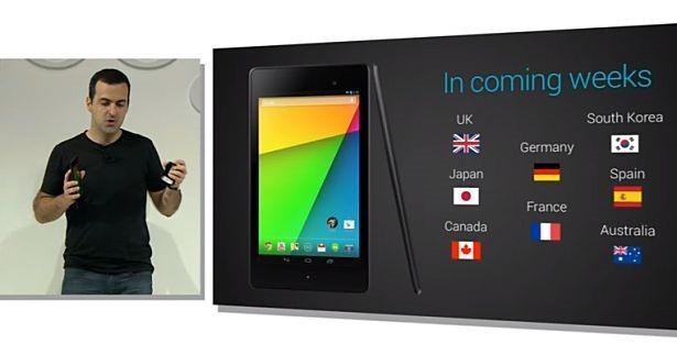 第2世代Nexus 7、日本でも数週間以内に発売へ(各モデルの価格も)
