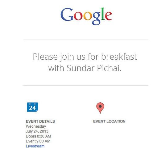 次期Nexus 7 は7月24日発表か、Googleがイベント開催へ