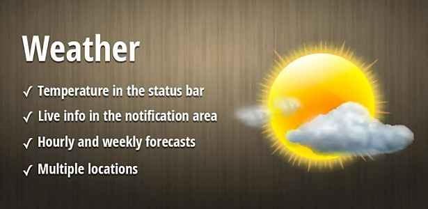 価格不明、ウィジェット対応 お天気アプリ「Weather Pro」の試用レビュー / Androidアプリ