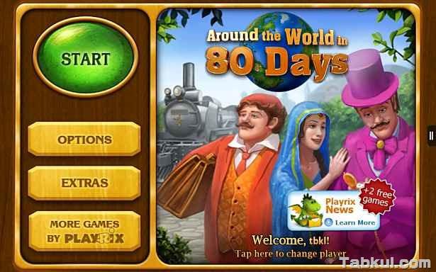 価格 292円、冒険パズルゲーム「Around the World in 80 Days (Premium)」の試用レビュー / Androidアプリ