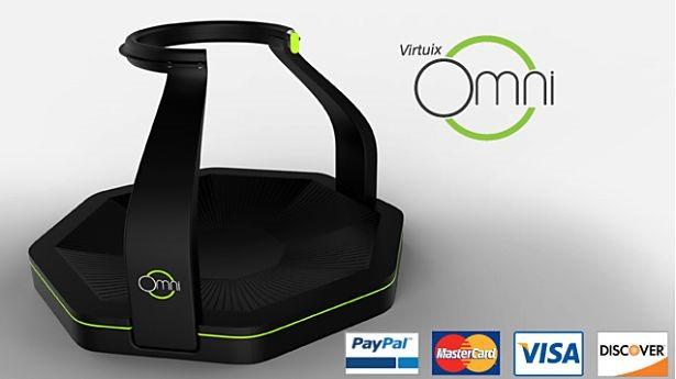 走れるVRゲーム機『Virtuix Omni』が予約開始へ