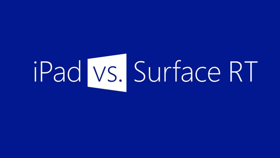 Microsoft、iPad vs Surface RT の新CMを公開