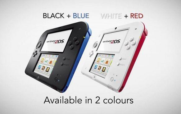 任天堂が『ニンテンドー2DS』発表、10月12日より価格129ドルで発売へ