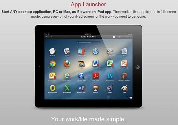 Windowsを「iPad流」に遠隔操作できるアプリ『Parallels Access』が提供開始