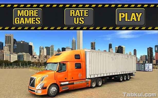 広告フリー版、トラック駐車ゲーム「Trucker Parking 3D」の試用レビュー