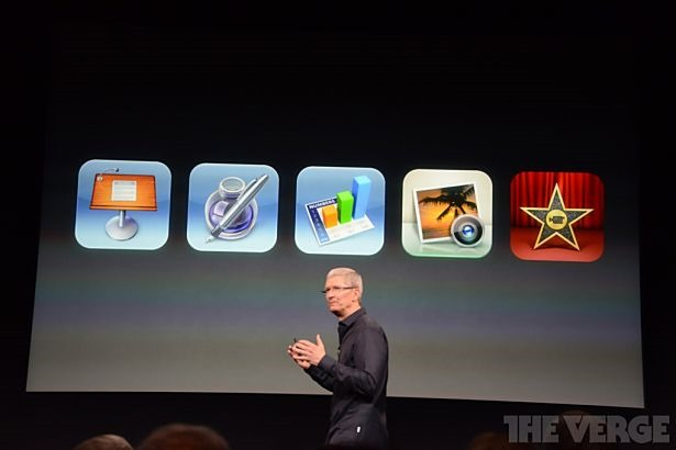 Apple、「iMovieやNumbersなど5アプリ」を新機種に無料配布