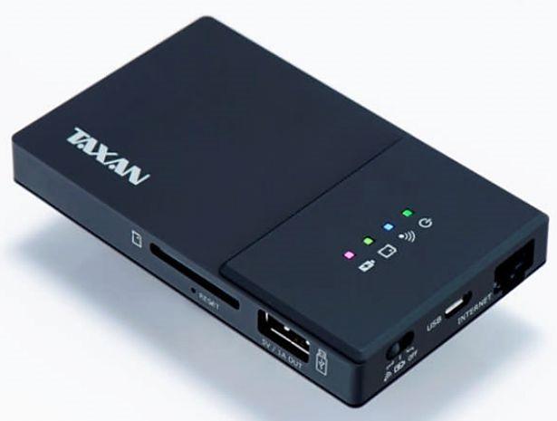 加賀ハイテック、モバイルバッテリーやWi-Fiルーター搭載カードリーダ『TAXAN MeoBankSD Plus』を9/27発売へ